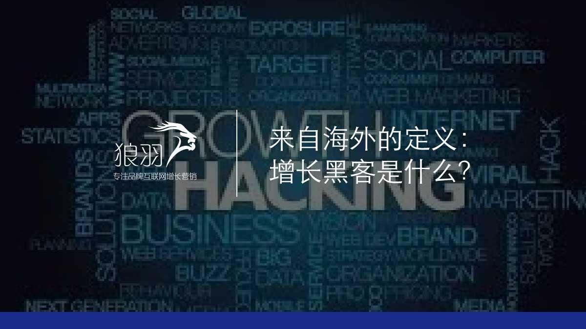 狼羽网络:增长黑客是什么?